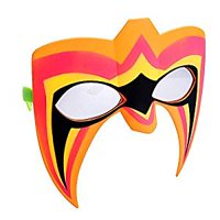 Party Costumes - Sun-Staches - WWE Ultimate Warrior New sg3349