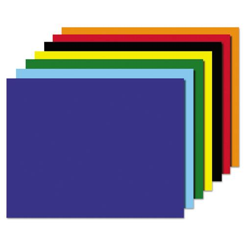 Poster Board, Four-Ply, 22 x 28, Assorted, 25/CT, Sold as 25 Each