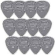 Dunlop Nylon Standard Guitar Picks - 12-Pack - .60mm - Light Gray