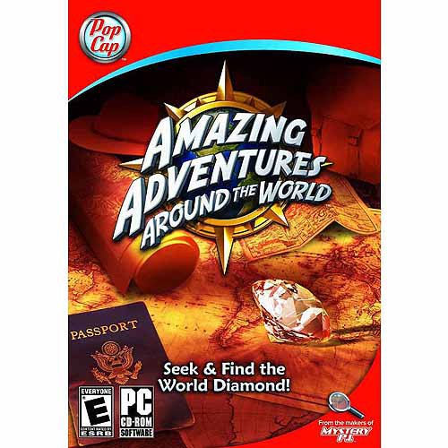 Amazing Adventures Around The World Pc Digital Code Walmart