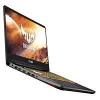 """ASUS TUF 15.6"""" Full HD Gaming Laptop, AMD Ryzen 7 R7-3750H, GeForce GTX 1650, 8GB DDR4, 256GB PCIe SSD, Windows 10 Home, Black, FX505DT-WB72"""