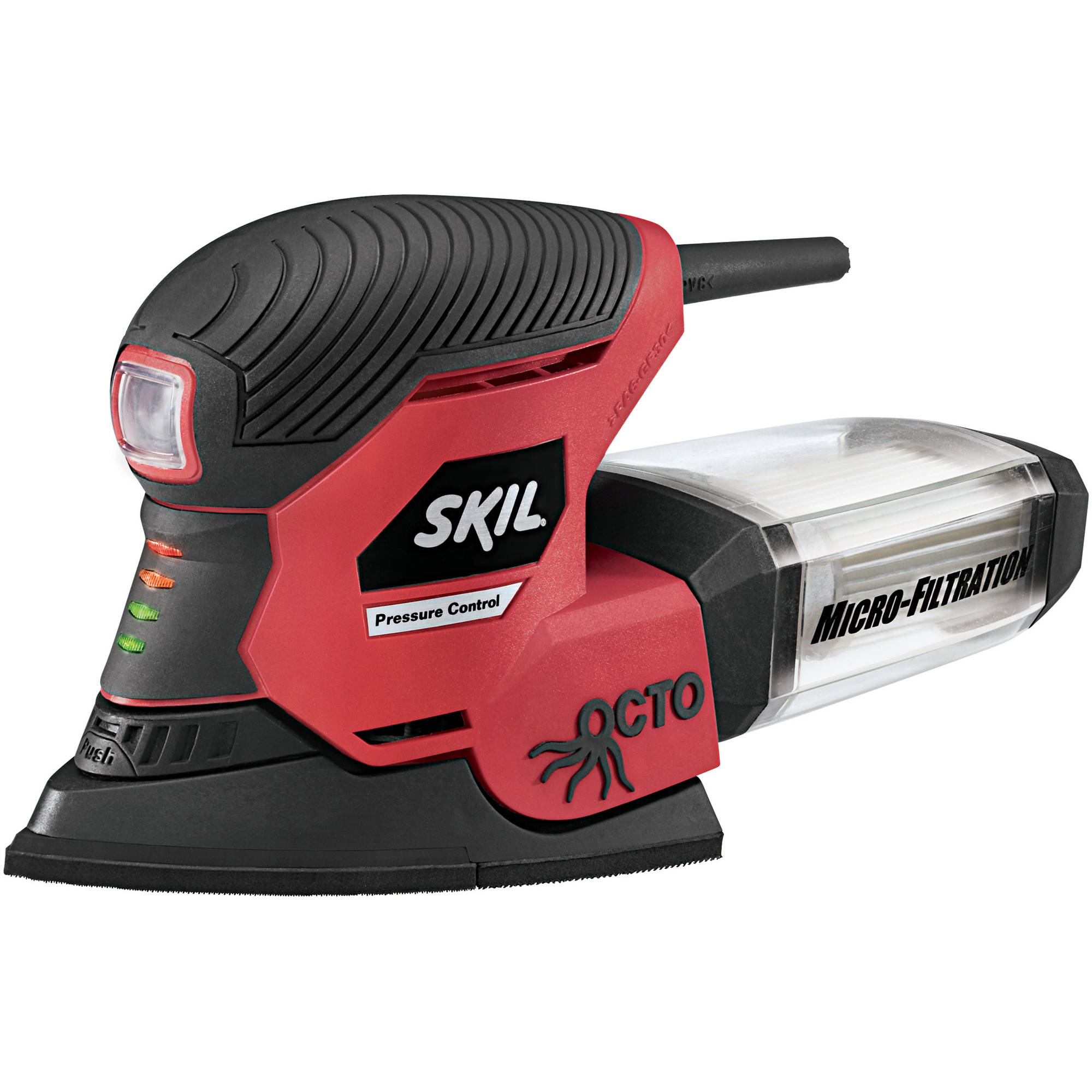 SKIL OCTO Multi-Finishing Sander with Pressure Control and Micro Filtration