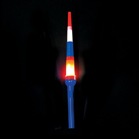 Fun Express - Patriotic Expanding LighT-Up Swords 1 pc for Fourth of July - Toys - Value Toys - Light Up Toys - Fourth of July - 1 Piece Patriotic Expanding LighT-Up Swords 1 pc for Fourth of July - Toys - Value Toys - Light Up Toys - Fourth of July - 1 Piece