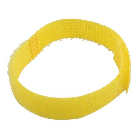 Nylon Magic Bangs Sticker Hair Pad Hook Loop Tape Fringe Care Tool Yellow 13 Pcs - image 1 of 2