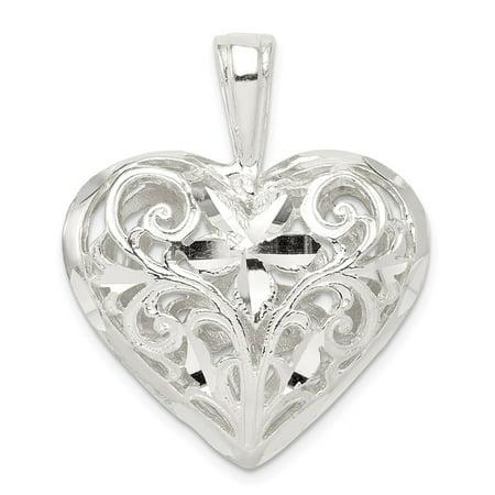 925 sterling silver filigree heart pendant walmart 925 sterling silver filigree heart pendant mozeypictures Choice Image