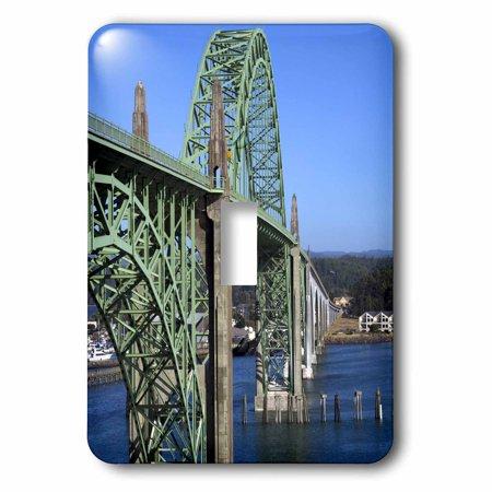 3dRose Yaquina Bay Bridge, Yaquina Bay, Newport, Oregon - US38 DFR0170 - David R. Frazier, 2 Plug Outlet Cover (Oregon Outlets)