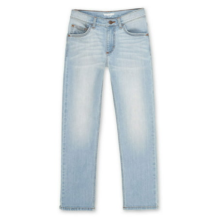 Wrangler Boys Slim Straight Jean with Stretch, Sizes 4-16