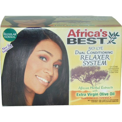 No-lye Dual Conditioning RelAxer System By Africa's Best