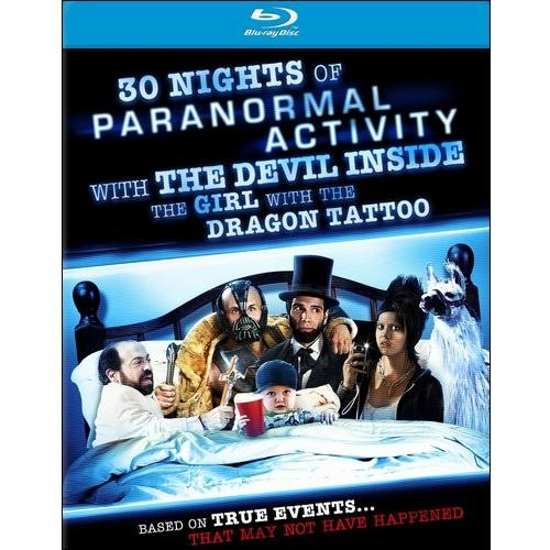30 Nights Of Paranormal Activity With The Devil Inside The Girl With The Dragon Tattoo (Blu-ray) (Widescreen)