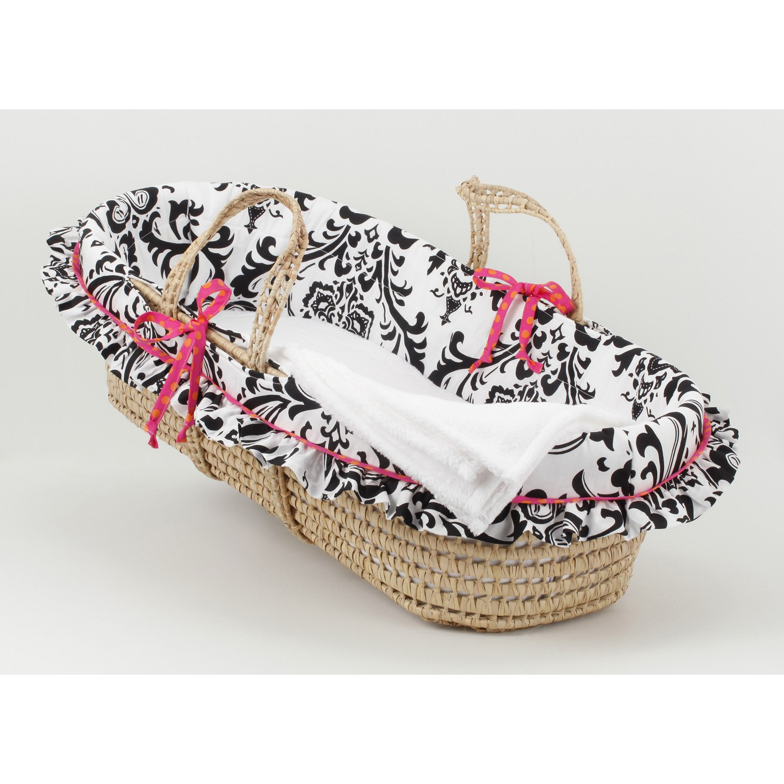 Cotton Tale Designs Girly Moses Basket