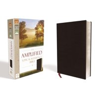 Amplified Topical Reference Bible, Bonded Leather, Black (Other)