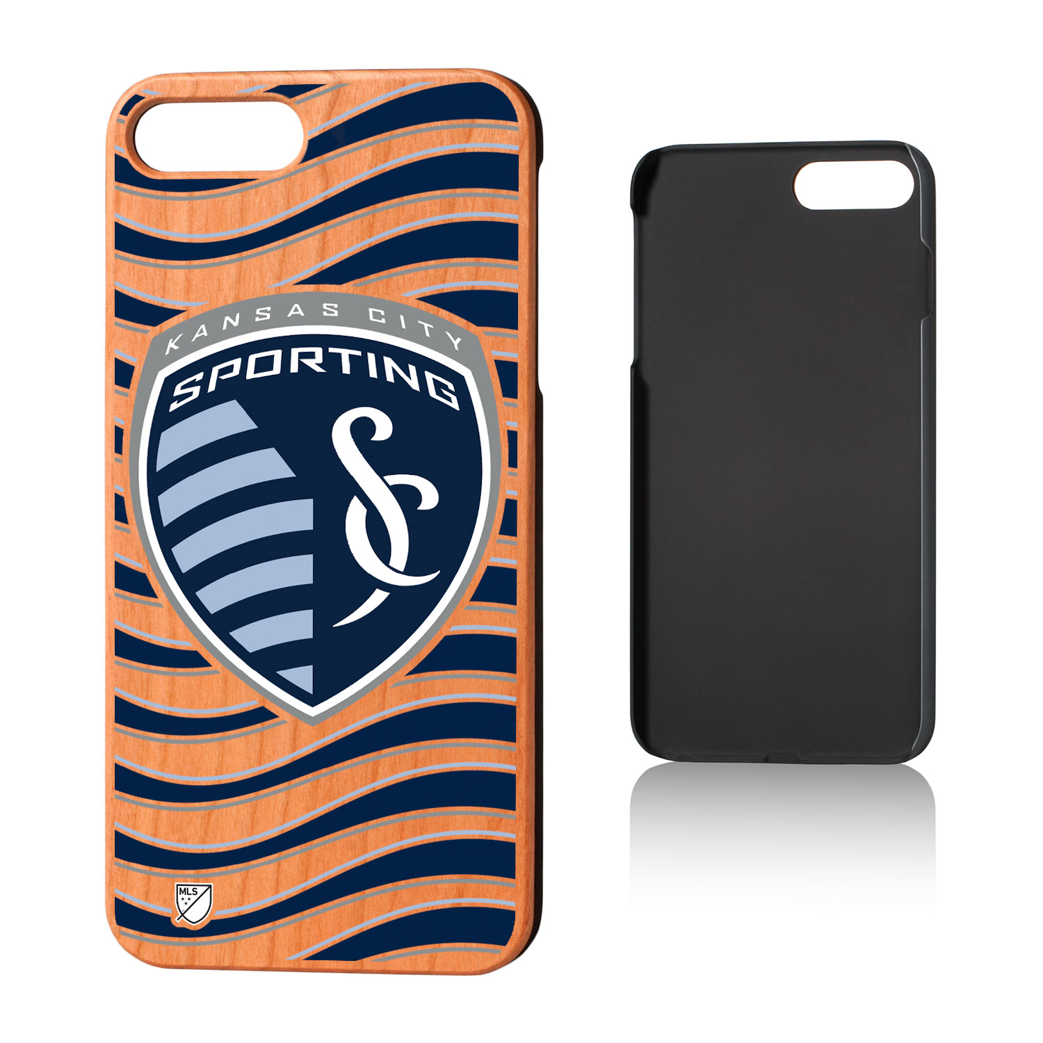 Sporting Kansas City SPORTING Wave Cherry Case for iPhone 8 Plus / 7 Plus