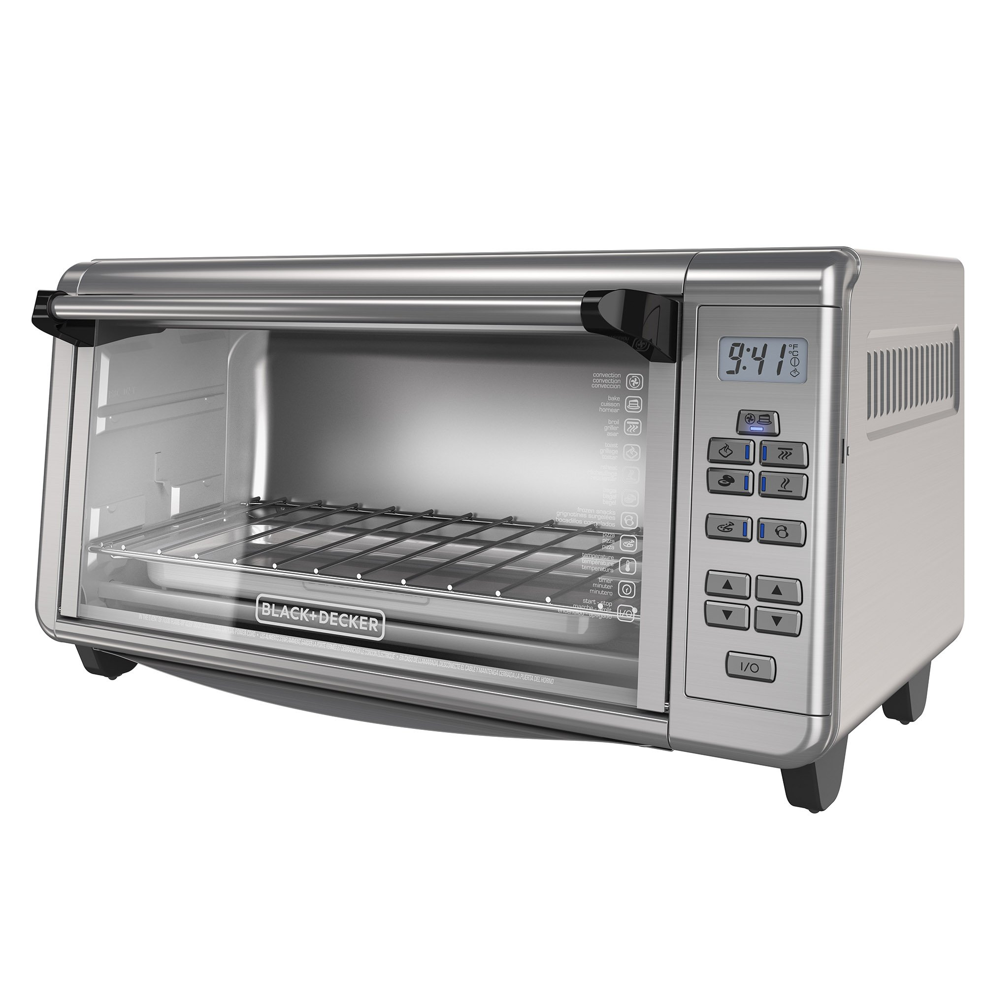 Black & Decker TO3290XSD 8-slice Digital Extra-wide Convection Oven by Black & Decker