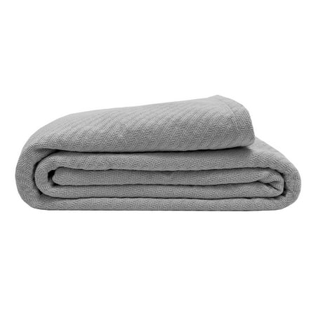 TWIN OYSTER ORGANIC COTTON BLANKET