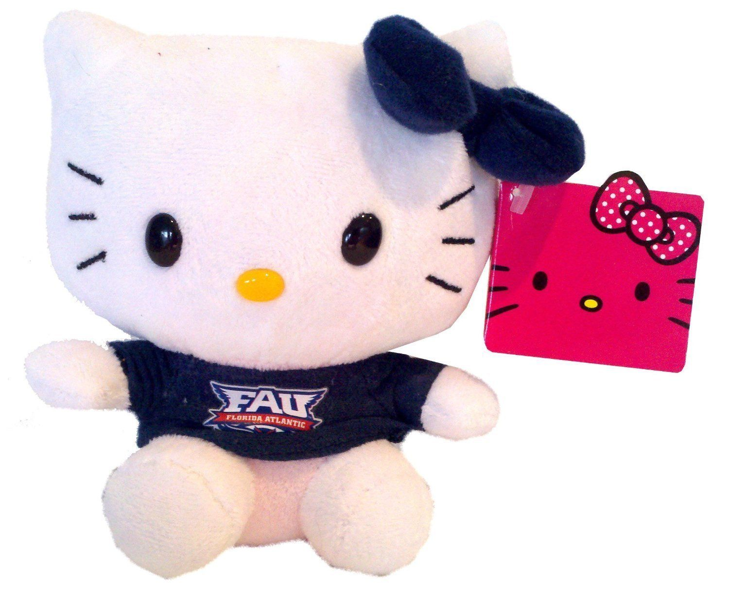 "Hello Kitty Goes to College FAU Florida Atlantic University Owls Plush Toy 11"" by Plushland"