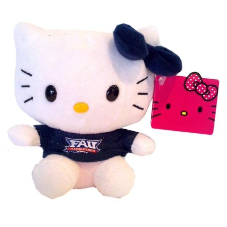 Hello Kitty Goes To College Fau Florida Atlantic University Owls Plush Toy 11