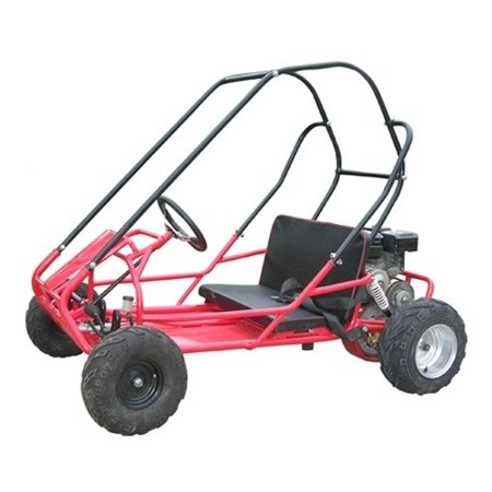 - Red Trail Master Mid Size XRS 200CC 4 Stroke, Single Cylinder, Air Cooled Pull Start Engine