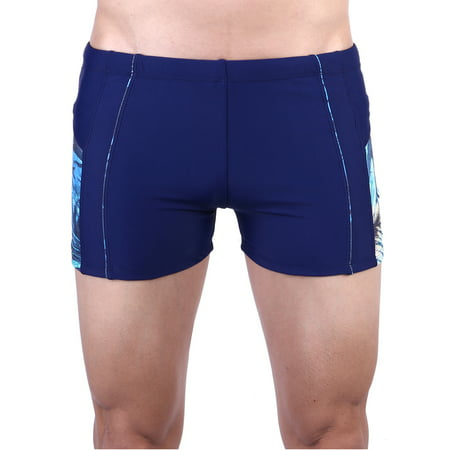 Mens Swim Quick Dry Briefs Square Leg Swim Trunks Athletic Jammers Shorts Compression Tight Underwear Bathing Suits (Mens Swin Briefs)