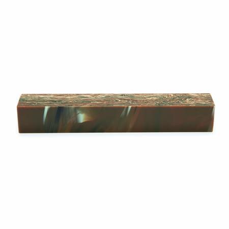 Acrylic Pen Blank Chocolate Swirl