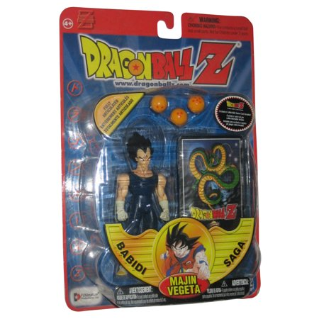 Dragon Ball Z Babidi Saga Irwin Toys Majin Vegeta Black Hair Action
