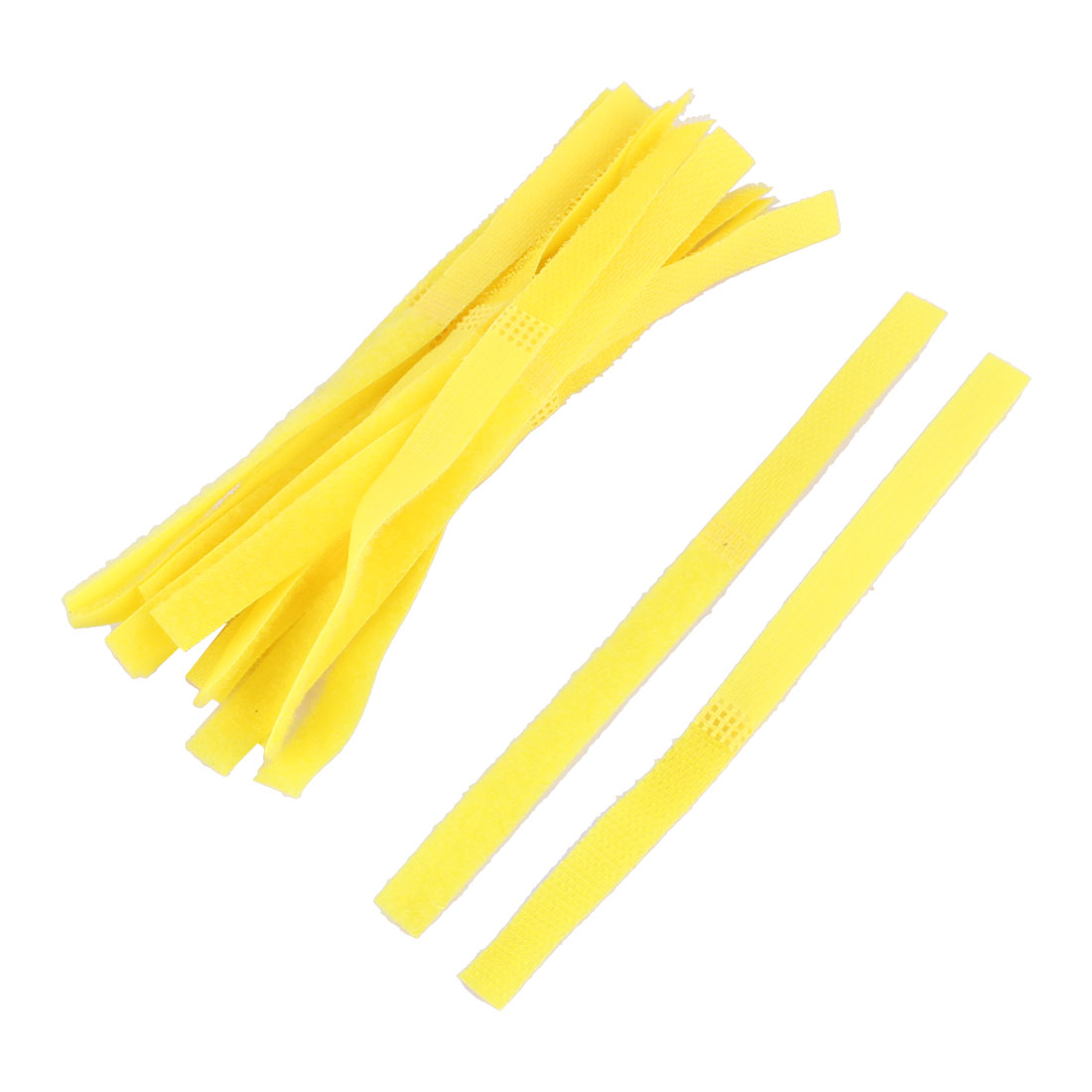 Self Adhesive Sticky Back Fabric Fastener Hook and Loop Tape 16cm Long 15pcs - image 2 of 2
