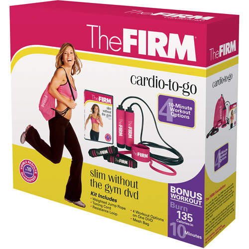 The Firm: Cardio-To-Go Kit