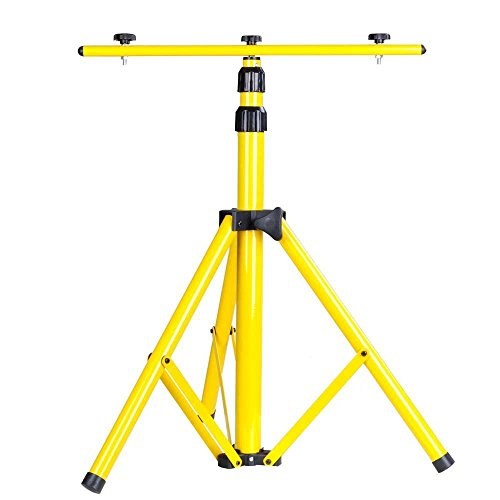 Yescom Adjustable Tripod Stand for LED Flood Light Camp Work Emergency Lamp
