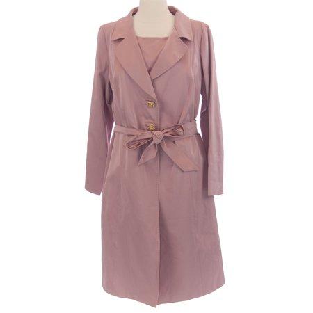 0151835d3b MARINA RINALDI by MaxMara Camogli Pink 2-PC Sleeveless Dress w/ Coat 12W /  21
