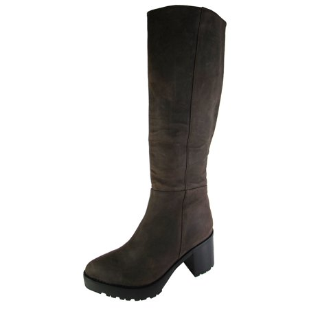 Jeffrey Campbell Womens Mammoth Knee High Boot Shoe, Brown Crazy Horse, US - Leather Mammoth