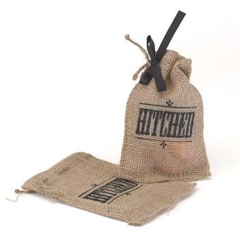 Hitched Burlap Favor Bag](Burlap Favor Bags)