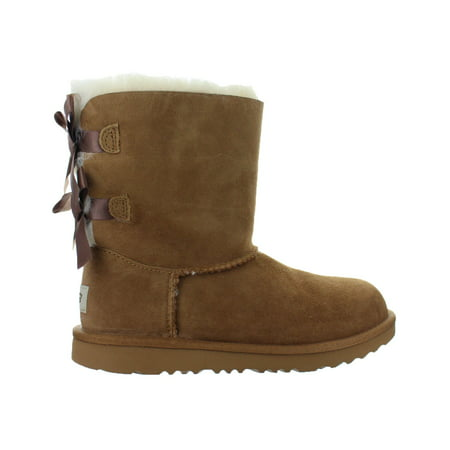 UGG Australia BAILEY BOW II Boot Little Kid 1017394K - Girls (Ugg Bailey Bow Back Boot)