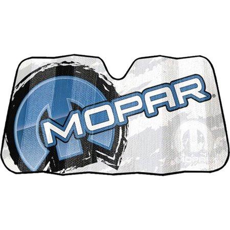 1 Piece Mopar Logo Accordion Sun Shade Front Windshield Universal Car Truck  SUV - Walmart.com 100c60ab745
