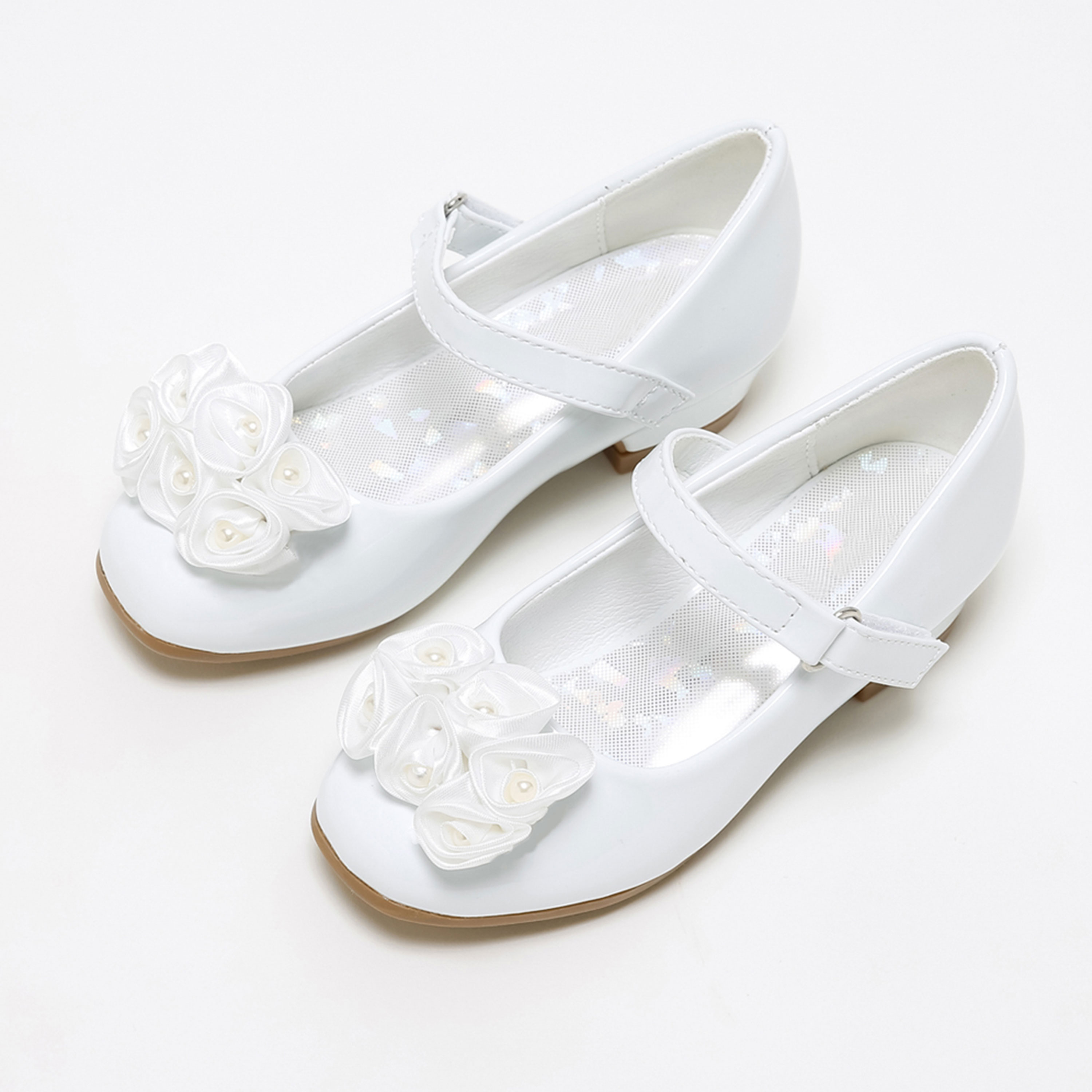 Classic Little Girls Shoes Breathable Mary Jane Flats for School Wedding Birthday Dress