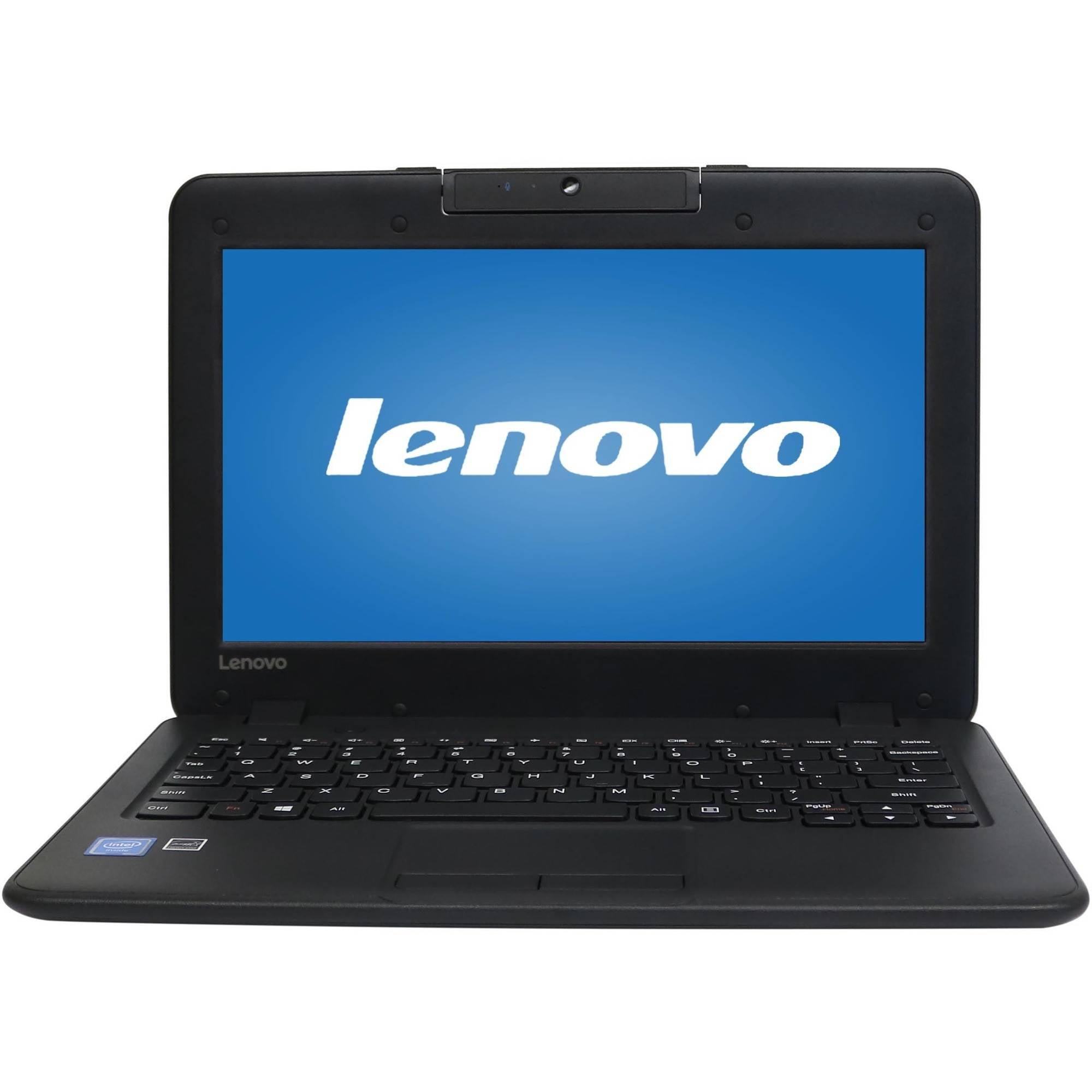 "Lenovo ThinkPad N22 11.6"" Laptop, Windows 10, Intel Celeron N3050 Processor, 4GB RAM, 32GB Solid State Drive"