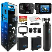 GoPro HERO7 Black + GoPro Shorty, Extra Battery, SanDisk 32GB Card
