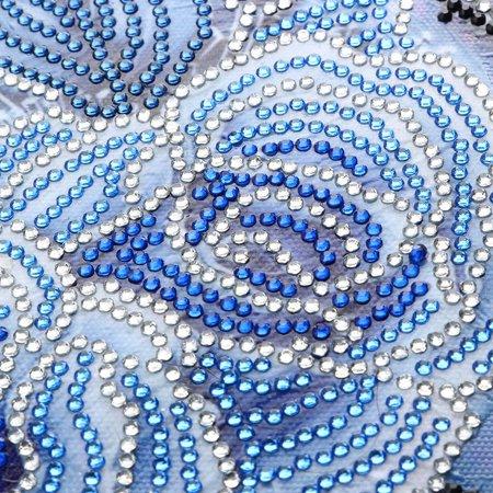DIY 5D Diamond Painting Kits DIY Drill Diamond Painting Needlework Crystal Painting Rhinestone Cross Stitch Paintings Arts Craft for Home Wall Decor Gift 25*25cm - image 5 of 7