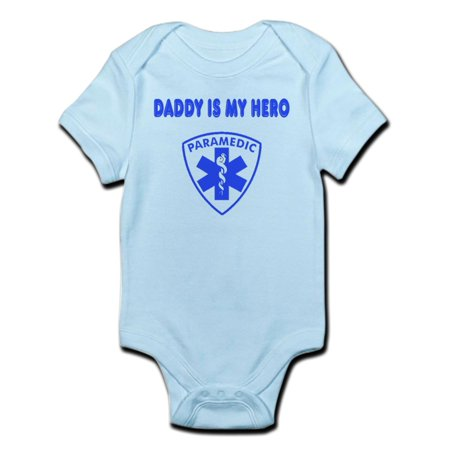 492a0a51 CafePress - CafePress - Paramedic Hero-Daddy Infant Bodysuit - Baby Light  Bodysuit - Walmart.com