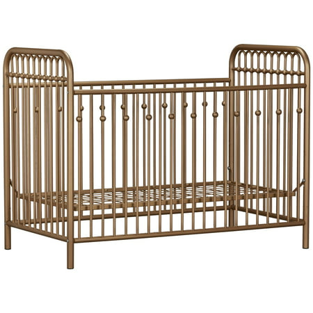 Little Seeds Monarch Hill Ivy Metal Crib, Multiple Colors ()