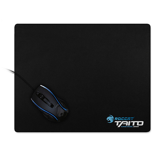 ROCCAT ROC-13-052 Taito King-Size 3mm Gaming Mousepad, Shiny Black