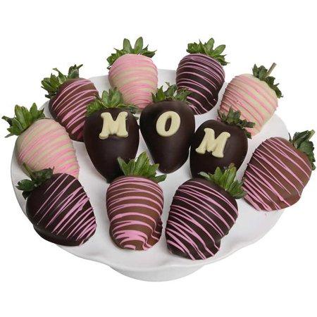 Belgian Chocolate Covered  Mom  Strawberries