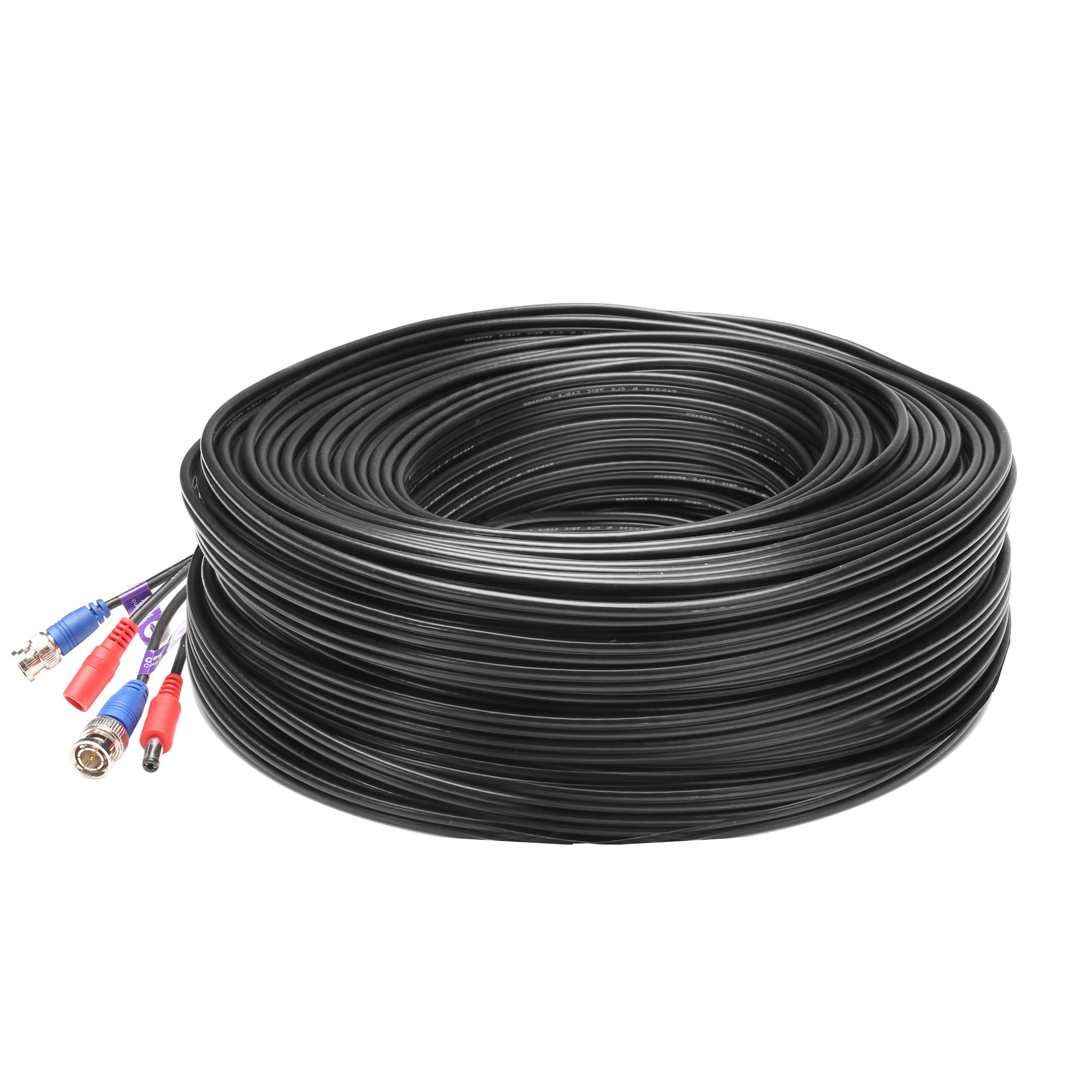 60m BNC Cable HD Video /& Power 200ft