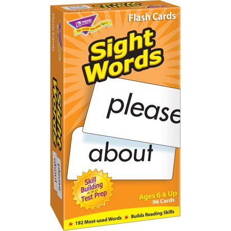 Trend, TEP53003, Sight Words Skill Drill Flash Cards, 1 Each, - Sight Word Flash Cards