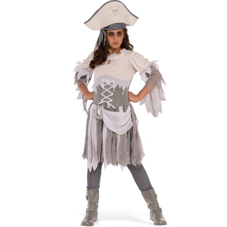 Ghostly Pirate Girls Costume
