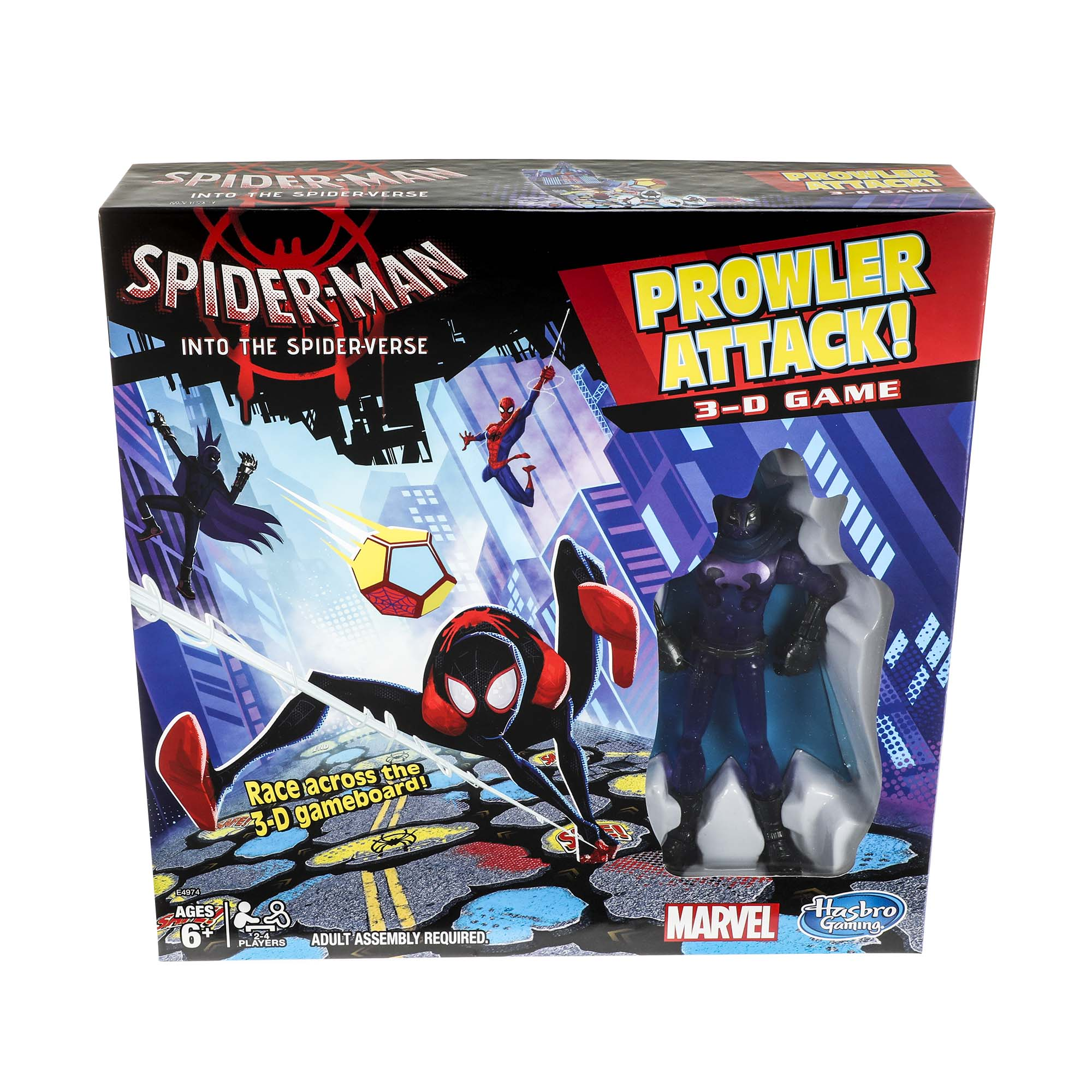 Spider-Man Into the Spider-Verse Prowler Attack 3-D Game - Sold Exclusively at Walmart