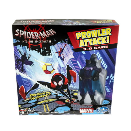 Smile Game Spider (Spider-Man Into the Spider-Verse Prowler Attack 3-D Game - Sold Exclusively at)