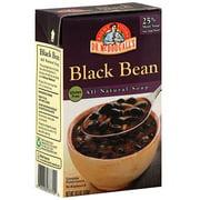 Dr. McDougall's Black Bean Soup, 18.3 oz (Pack of 6)