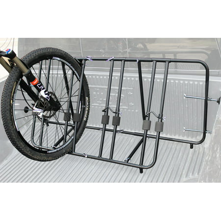 Pick Up Truck Bed Box Mounted Carrier Stand 1 2 3 4 Bike Rack Bicycle - Truck Bed Carrier
