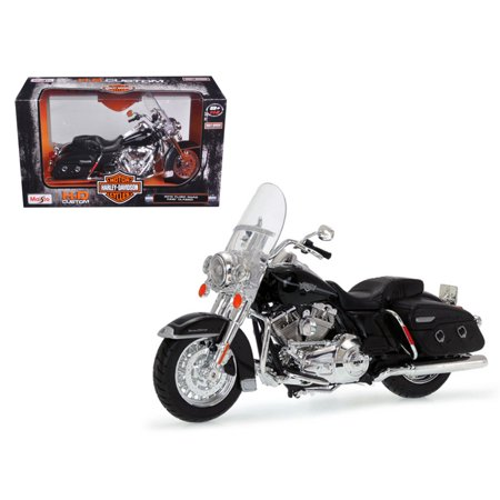 2013 Harley Davidson FLHRC Road King Classic Black 1/12 Diecast Motorcycle Model by Maisto