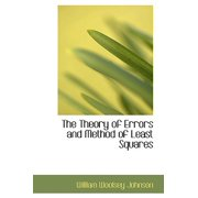 The Theory of Errors and Method of Least Squares