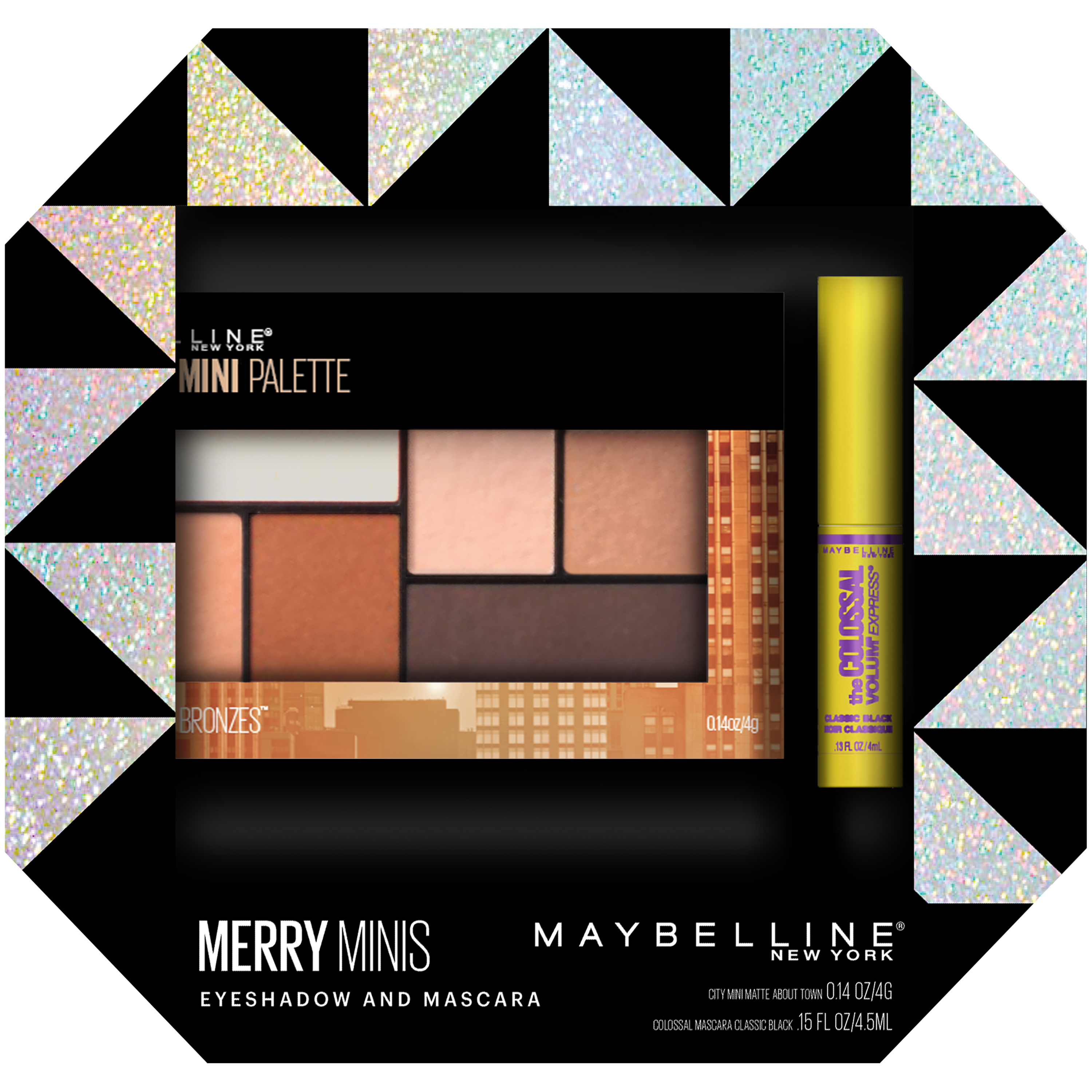 Maybelline Merry Minis Eyeshadow and Mascara Kit
